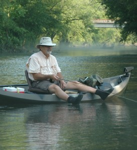 Warren Patterson Fishing the Duck River