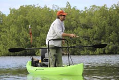 NuCanoe Frontier 12 Stand-Up Fly Fishing Kayak