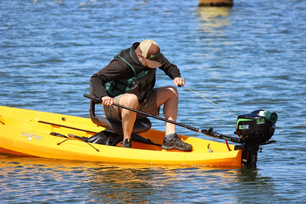 The World S First Propane Outboard Powered Kayak Nucanoe