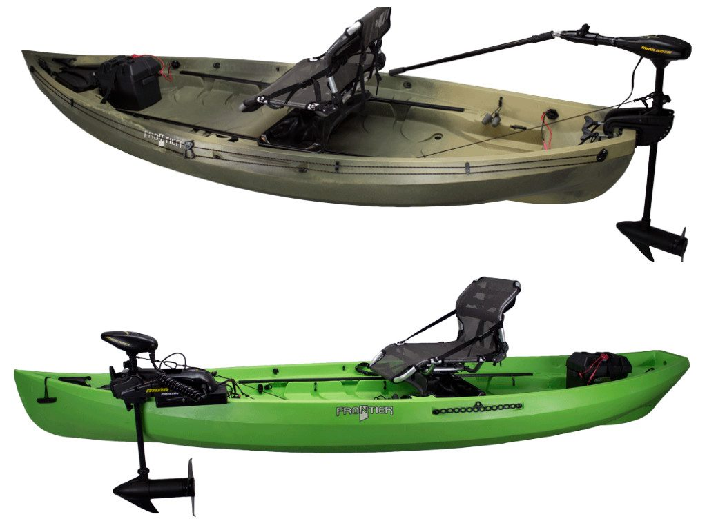 Motorized fishing kayaks nucanoe for Best canoe for fishing