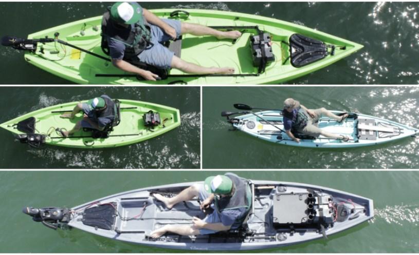Motorized Fishing Kayaks
