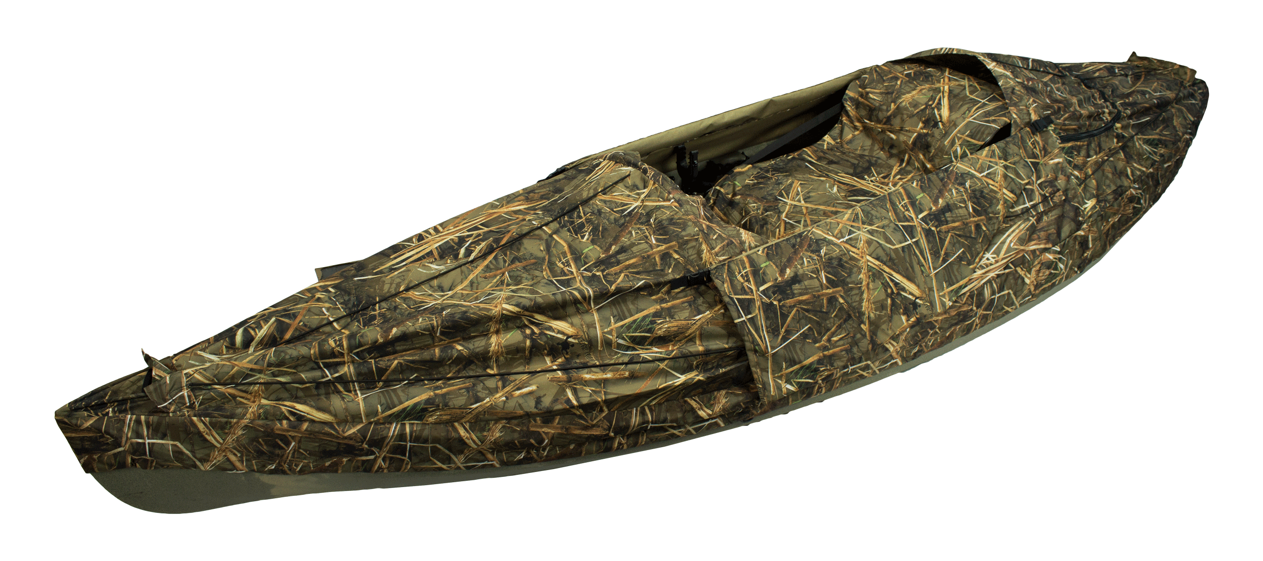 NuCanoe Layout Duck Blind