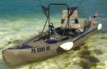 Motorized fishing kayaks nucanoe hunting and fishing for Used fishing kayaks for sale
