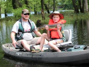 Customizable Tandem Fishing Kayak
