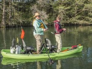 Spacious Tandem Fishing Kayak