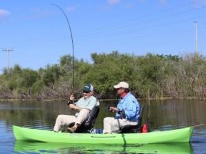 Tandem Fishing Kayak Stability