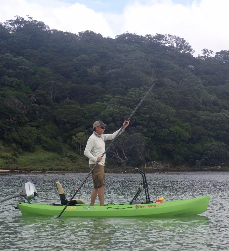 NuCanoe Frontier Fly Fishing in New Zealand