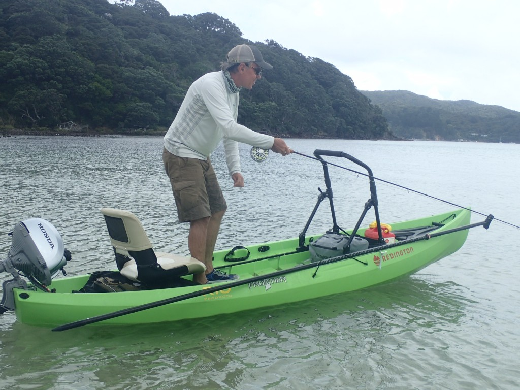 NuCanoe Frontier Fly Fishing in New Zealand