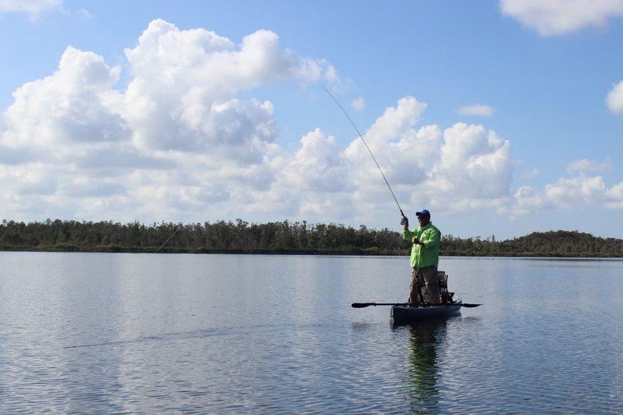 NuCanoe Kayak Fishing Fishing Skill