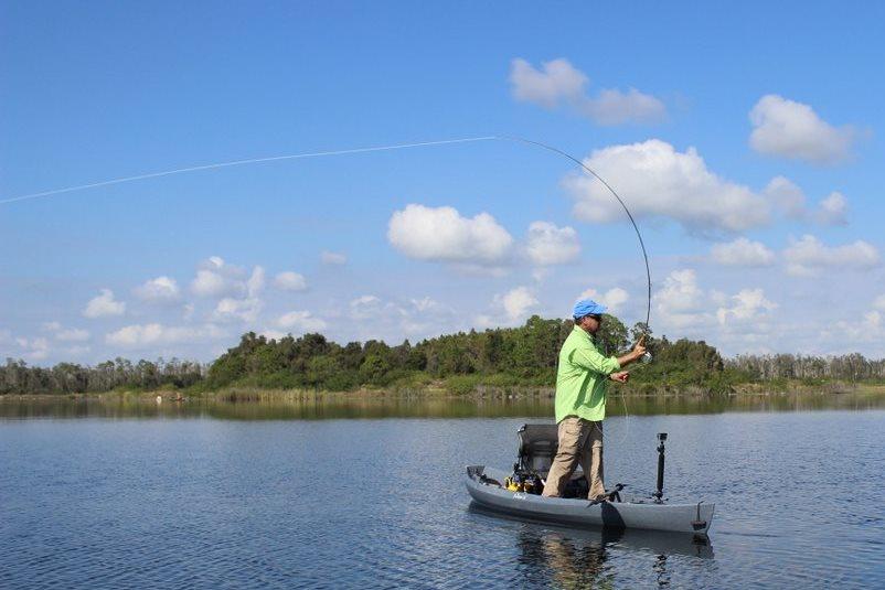 Kayak Fly Fishing Skill 2a