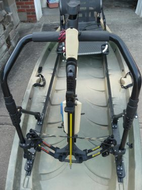 NuCanoe Frontier Bowfishing Rigging