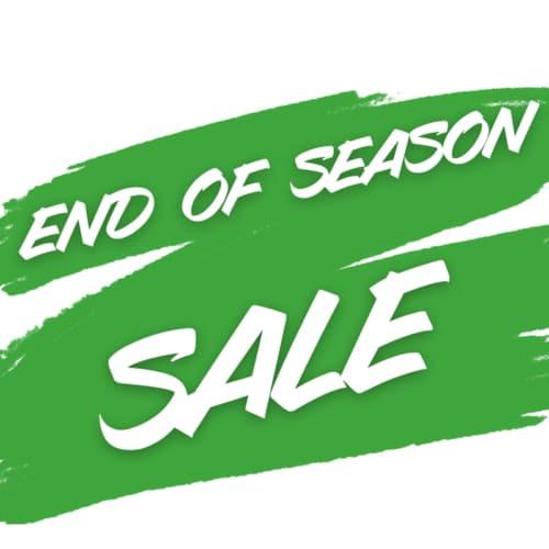 End of Season Savings
