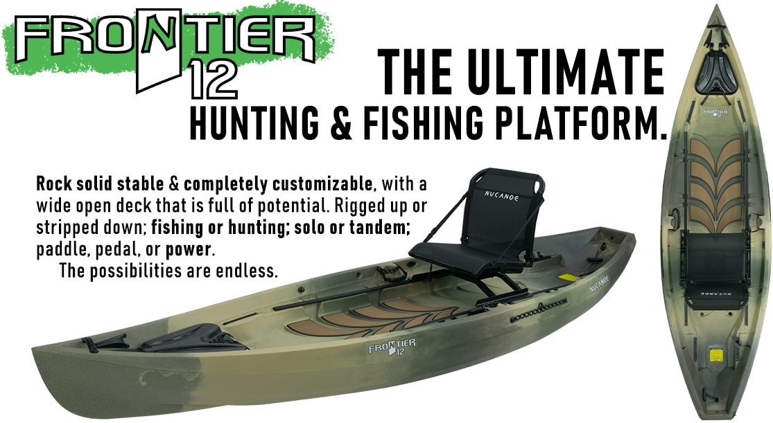 Frontier 12 Hunting and Fishing Kayak